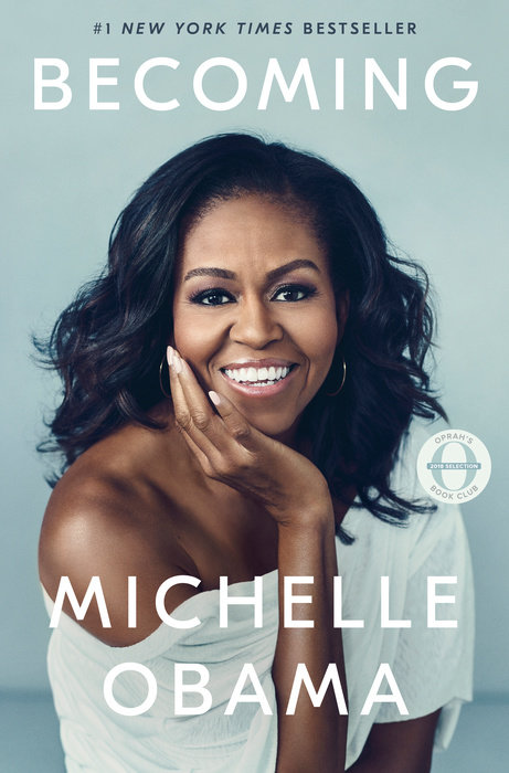Cover of Michelle Obama's book Becoming.